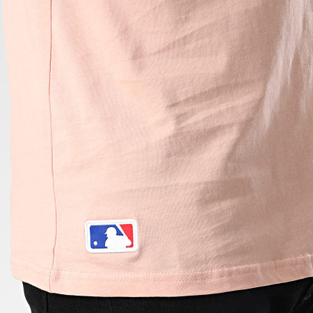 New Era - Tee Shirt MLN Seasonal Team Logo New York Yankees 12033500 Rose