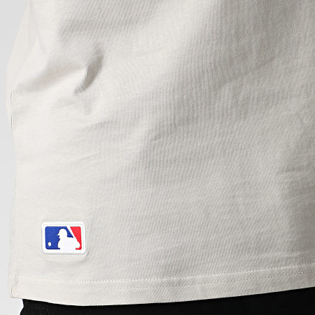 New Era - Tee Shirt MLB Seasonal Team Logo Los Angeles Dodgers 12033501 Gris Clair