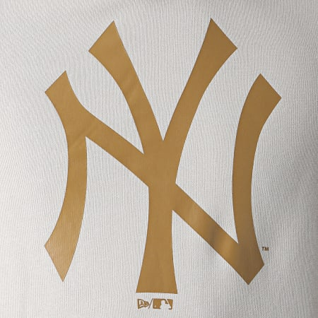 New Era - Sweat Capuche MLB Seasonal Team Logo New York Yankees 12033505 Gris Clair