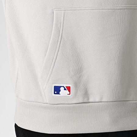 New Era - Sweat Capuche MLB Seasonal Team Logo Los Angeles Dodgers 12033509 Gris Clair