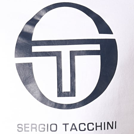 Sergio Tacchini - Sweat Capuche Zion 37704 Blanc