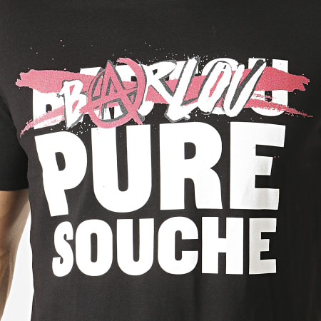 Seth Gueko - Tee Shirt Barlou Pure Souche Noir