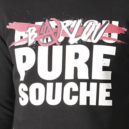 Seth Gueko - Sweat Crewneck Barlou Pure Souche Noir