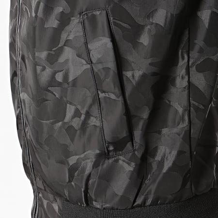 Brave Soul - Bomber Camouflage Algeria Noir
