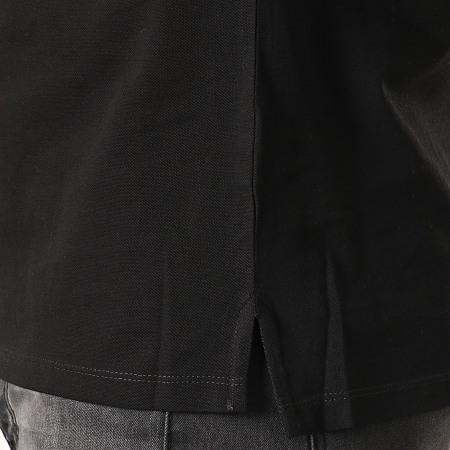 Antony Morato - Polo Zippé Manches Courtes The New ID MMKS01621 Noir Rouge