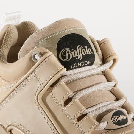 Buffalo - Baskets Femme Classic Low 1339-14 Nubuck Leather Cream
