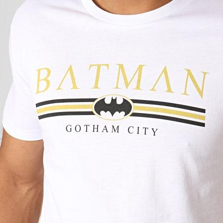 Batman - Tee Shirt Batman Institutional Gotham Blanc