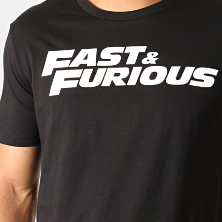 Fast And Furious - Tee Shirt Fast And Furious Noir