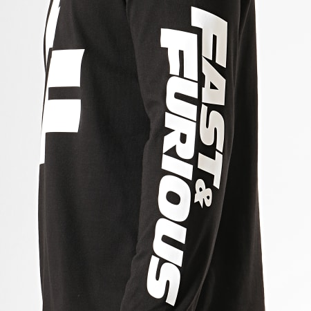 Fast And Furious - Tee Shirt Manches Longues F&F Noir