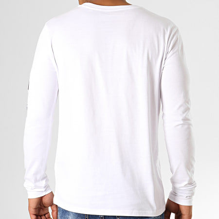 Fast And Furious - Tee Shirt Manches Longues F&F Blanc