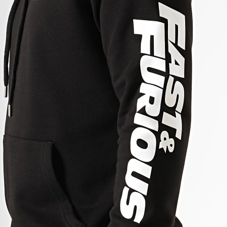 Fast And Furious - Sweat Capuche F&F Coeur Noir