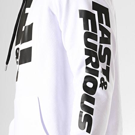 Fast And Furious - Sweat Capuche F&F Blanc