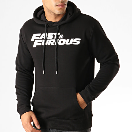 Fast And Furious - Sweat Capuche Fast & Furious Noir