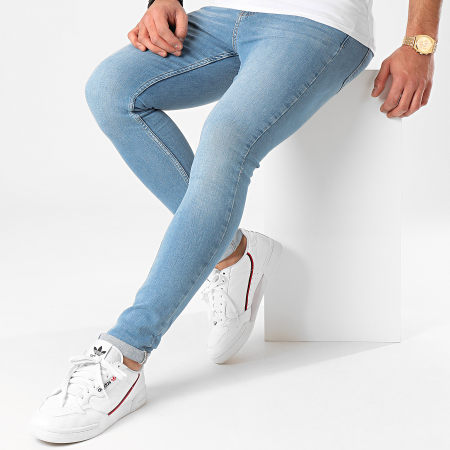 LBO - Jean Super Skinny Fit 924 SS-13A Denim Bleu Clair