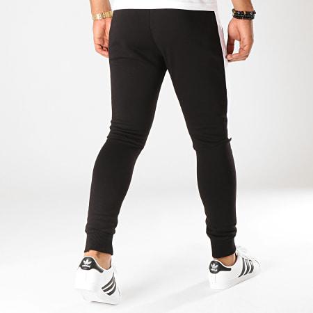 LBO - Pantalon Jogging Fit 829 Noir Blanc