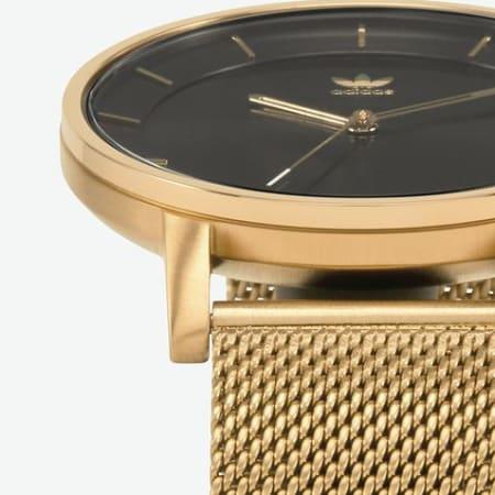 adidas - Montre District M1 Z041604 Gold Black Sunray