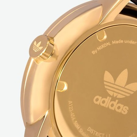 adidas - Montre District L1 Z081604 Gold Black Sunray