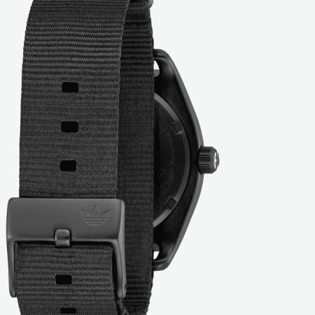 adidas - Montre Process W2 Z092341 All Black Gunmetal