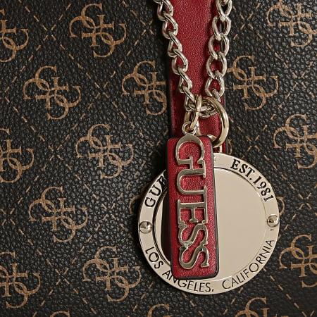 Guess - Lot Sac A Main Et Pochette Femme SG743723 Marron