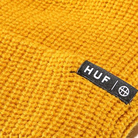 HUF - Bonnet Usual Jaune Moutarde