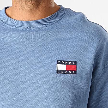 Tommy Hilfiger Jeans - Sweat Crewneck Badge 6592 Bleu Clair