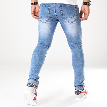 LBO - Jean Skinny BO12 Bleu Denim