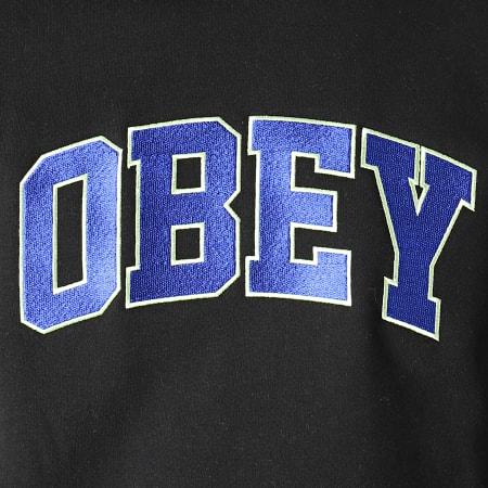 Obey - Sweat Crewneck Sports Noir