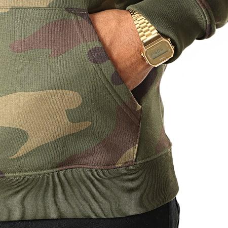 93 Empire - Sweat Capuche 93 Empire Camouflage Vert Kaki