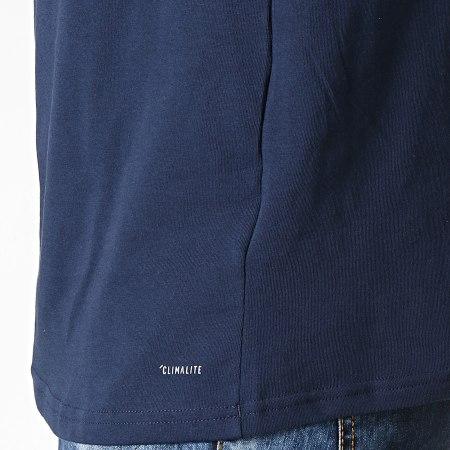 adidas - Tee Shirt De Sport Manches Longues A Bandes Arsenal EH5710 Bleu Marine Rouge