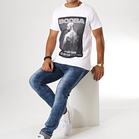 92i - Tee Shirt Vintage Blanc