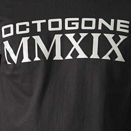 92i - Tee Shirt Octogone Noir
