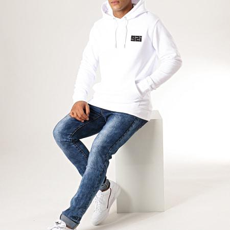 92i - Sweat Capuche 92i Mini Blanc