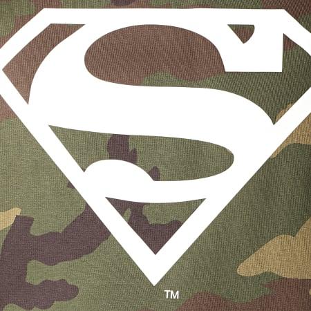 Superman - Sweat Capuche Logo Camo