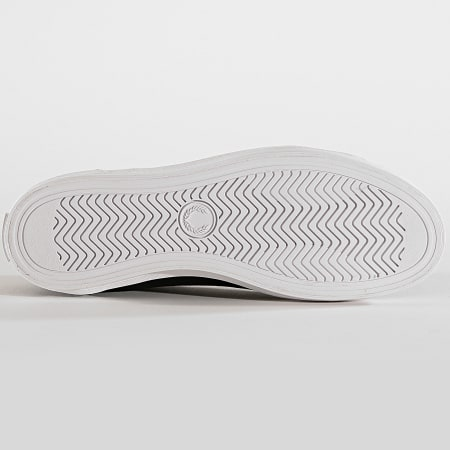 Fred Perry - Baskets Baseline Microfibre B6103 Black Navy