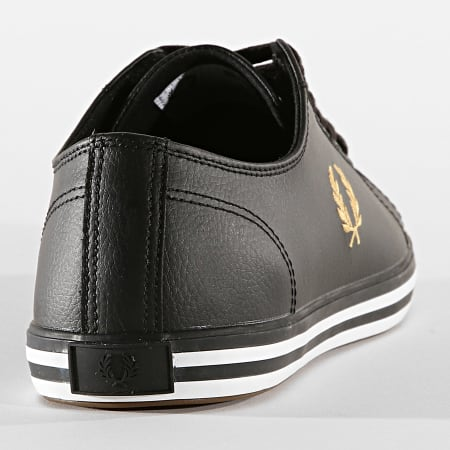Fred Perry - Baskets Kingston Leather B7163 Black
