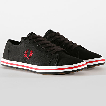 Fred Perry - Baskets Kingston Twill B7259 Black