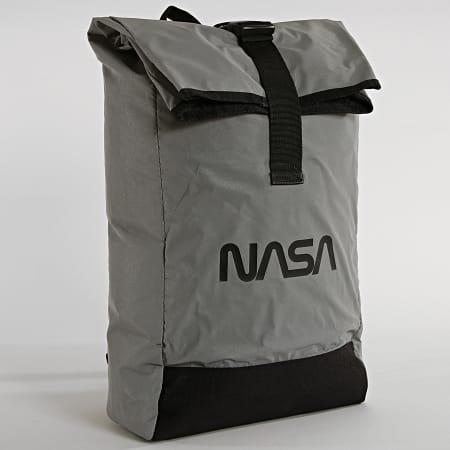 NASA Sac A Dos Worm Logo Reflective Gris