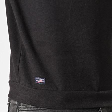 US Polo ASSN - Sweat Crewneck Logo Fleece 18752893-51930 Noir Gris