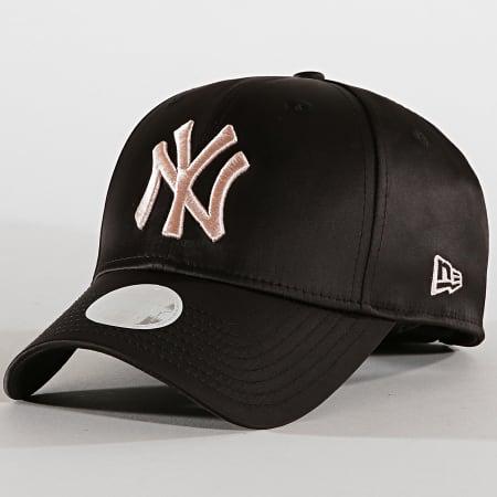 New Era - Casquette Femme 9Forty Satin 12040386 New York Yankees Noir