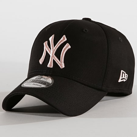 New Era - Casquette Fitted 39Thirty League Essential 12040452 New York Yankees Noir Rose