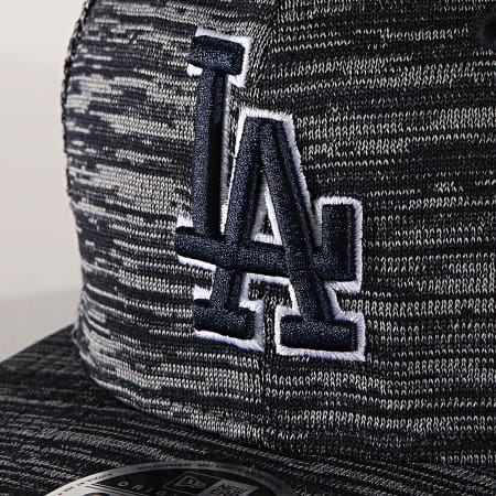New Era - Casquette Fitted 9Fifty Engineered Fit 12040530 Los Angeles Dodgers Bleu Marine Chiné
