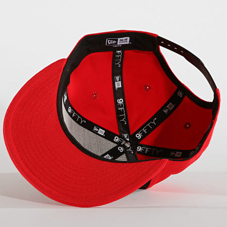 New Era - Casquette Snapback Enfant 9Fifty Character Front 10240589 Chicago Bulls Rouge Noir