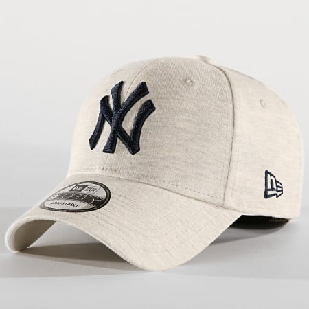 New Era - Casquette 9Forty Jersey Essential 1240621 New York Yankees Gris Chiné