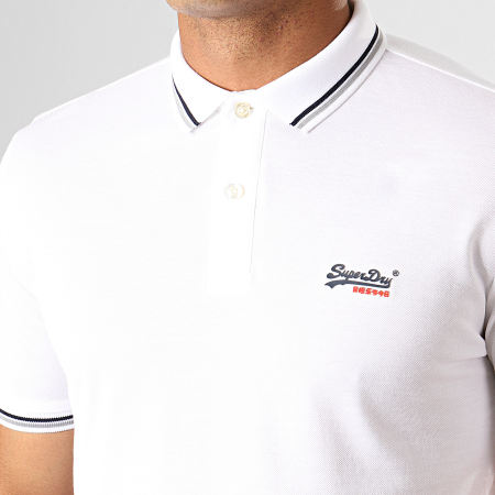 Superdry Polo Manches Courtes Classic Lite Micro Sports