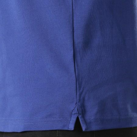 Superdry - Polo Manches Courtes Classic Lite Micro Sports M1100003A Bleu Marine Blanc Rouge
