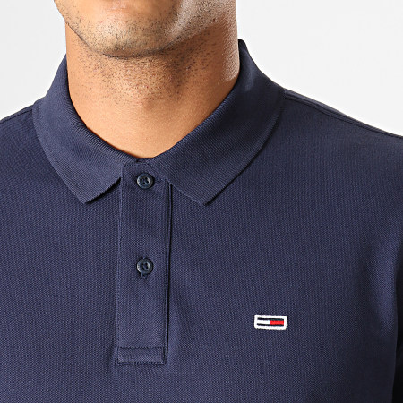 Tommy Hilfiger Jeans - Polo Manches Courtes Classics Solid 7196 Bleu Marine