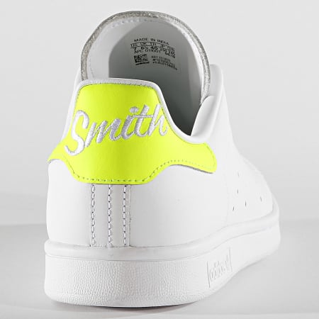 adidas - Baskets Stan Smith EE5820 Footwear White Solar Yellow