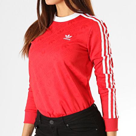 tee shirt long femme adidas