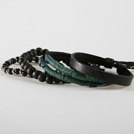 Deeluxe - Lot De 4 Bracelets Apache Noir