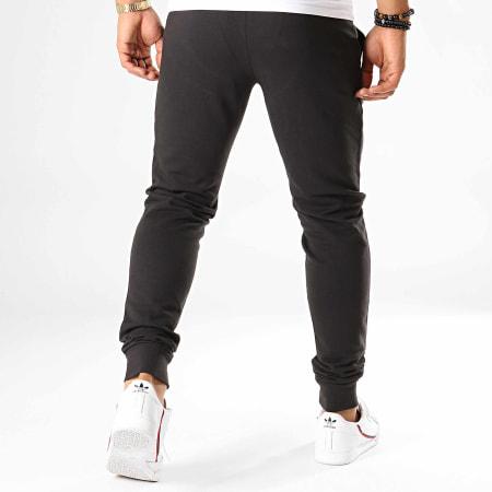 EA7 - Pantalon Jogging 6GPP53-PJ05Z Noir Argenté